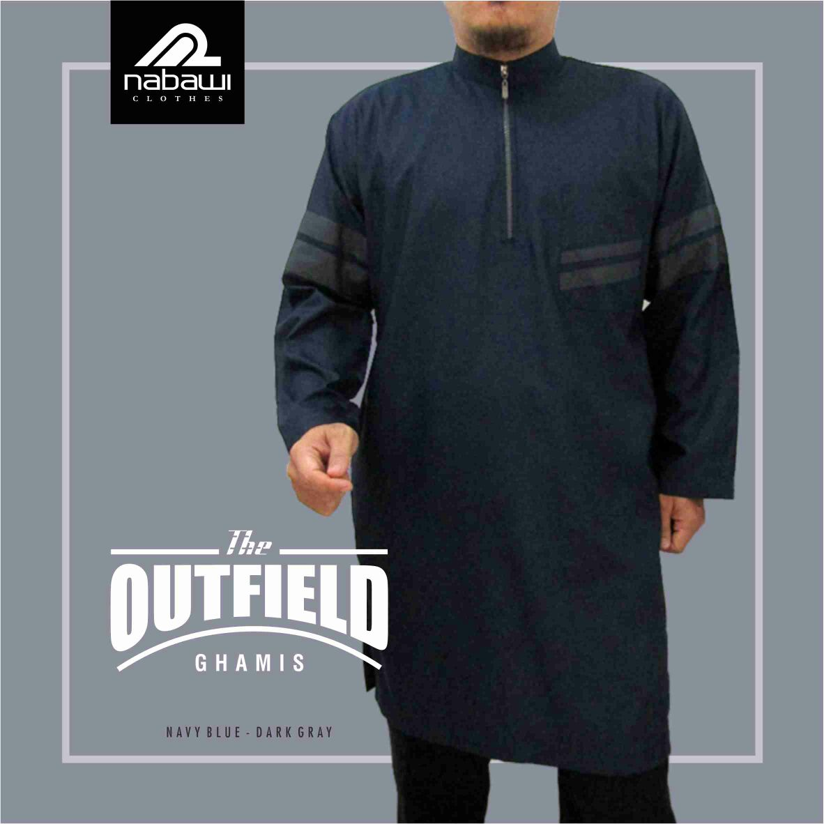 Nabawi Cloth Baju Gamis Pria Pakistan Murah Nabawi The Outfield